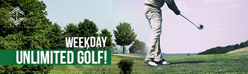 Weekday UNLIMITED Golf!